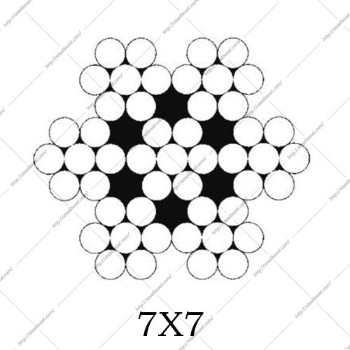 سیم بکسل 7X7 افشان