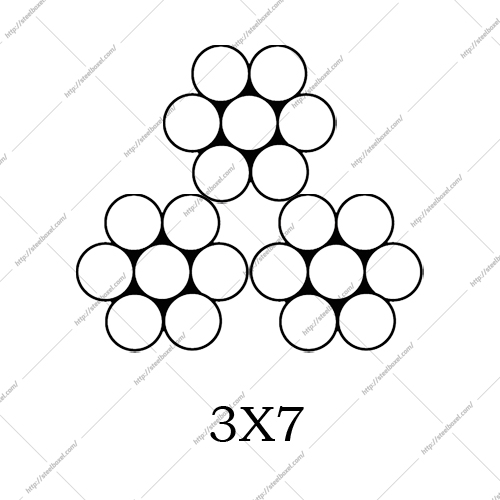 سیم بکسل مهاری 3X7