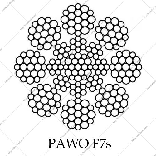 سیم بکسل آسانسوری PAWO F 7S