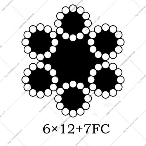 سیم بکسل گاورنرآسانسوری 6×12+7FC