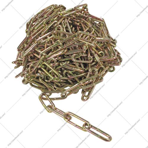 زنجیر لوستری طلایی